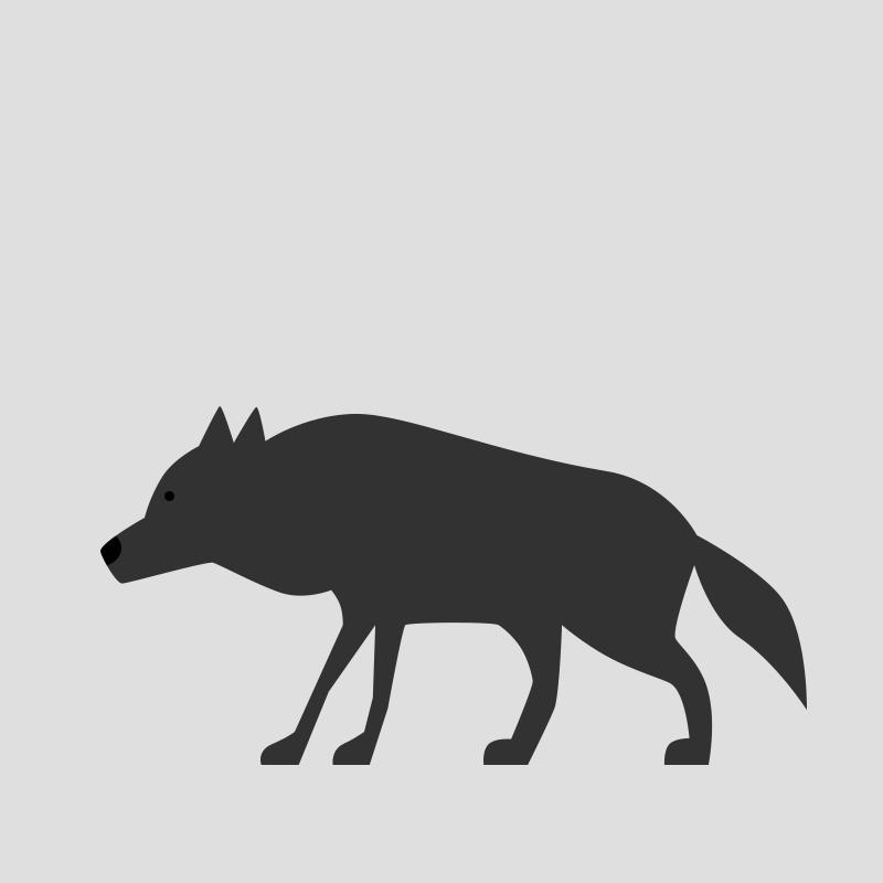 Wolf fine