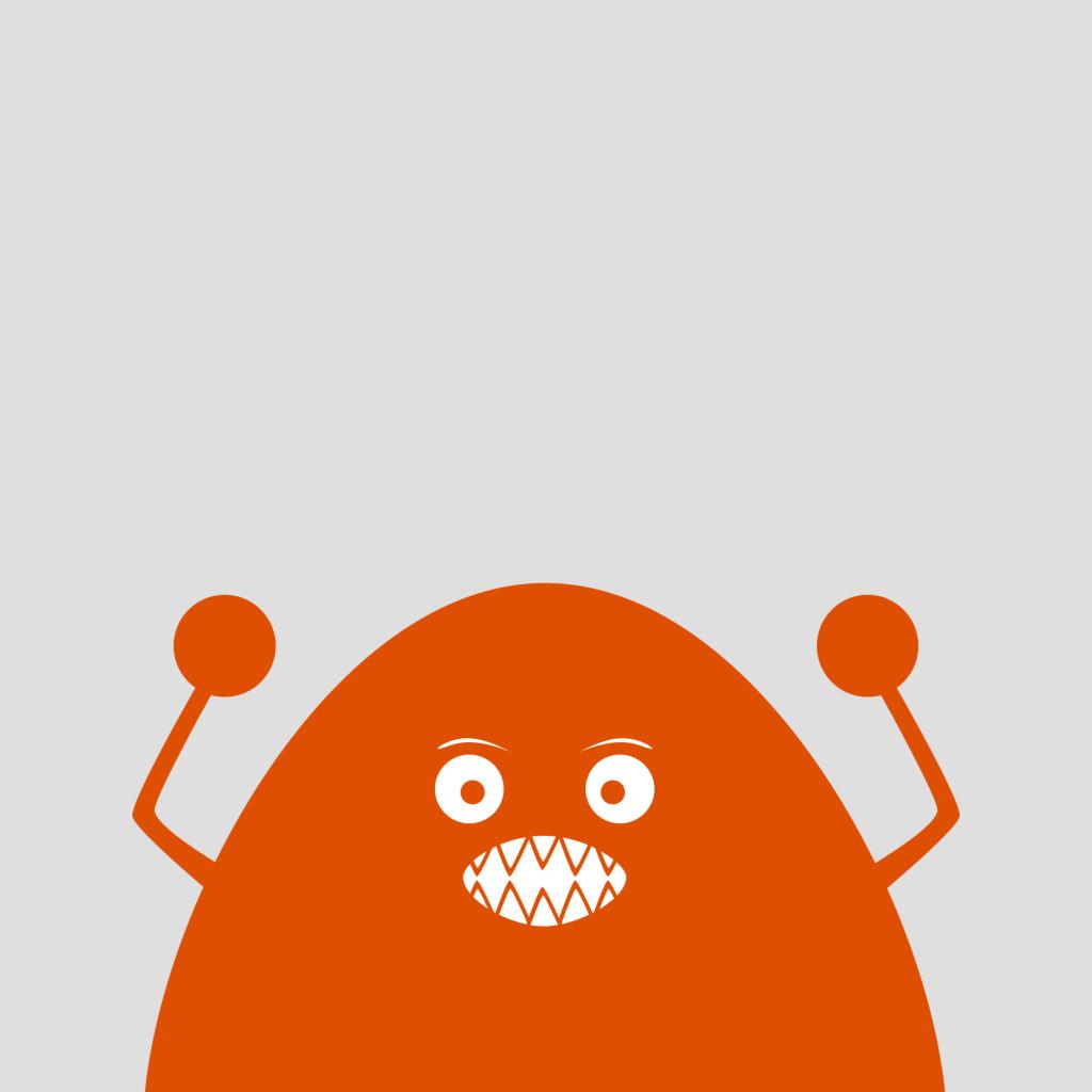 angry blob